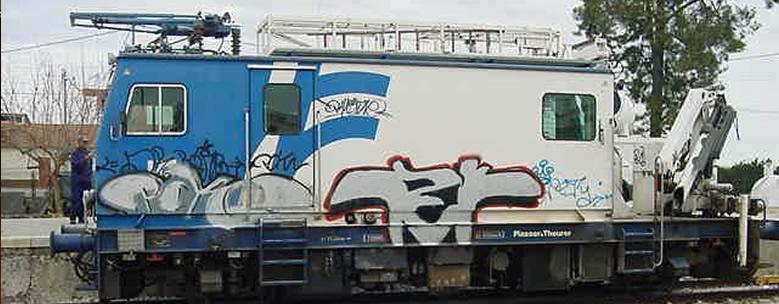 Horto do Campo Grande - Anti-graffitis