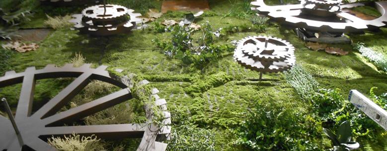 Horto do Campo Grande - Jardins Verticais