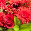 Acrílico com Rosas e Gerberas