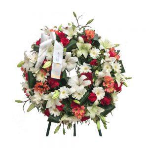 Coral de Funeral Tons creme