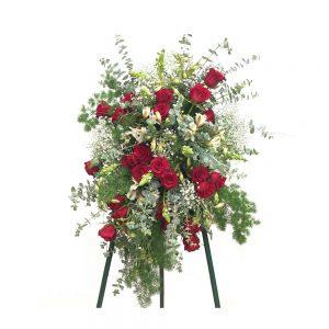 Palma de Funeral Red Love