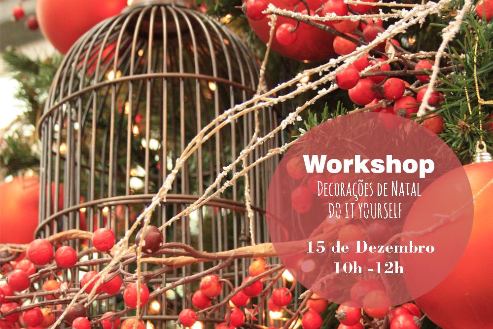 """Workshop """"Arranjos de Natal"""""""