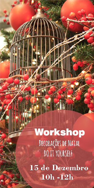 "Horto do Campo Grande - Workshop ""Arranjos de Natal"""