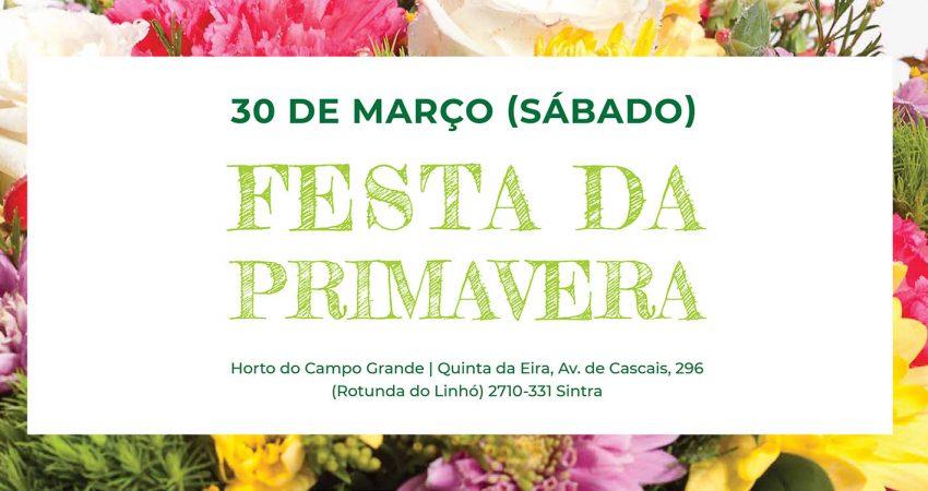 Festa da Primavera - Horto do Campo Grande