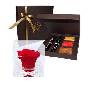 Flores, Chocolate e Moscatel