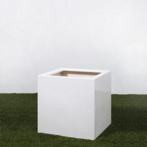 Vaso quadrado branco