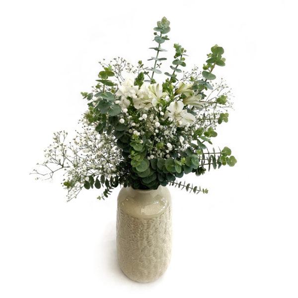 Jarra Decorativa com Flores Frescas