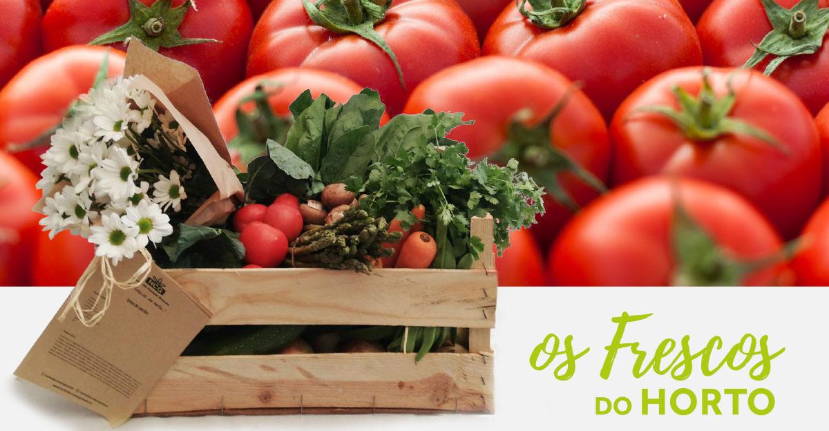 Os Frescos do Horto: Tomate