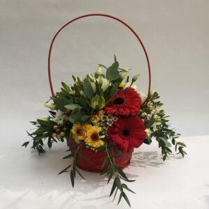 Cesto Flores Primavera para o Dia dos Namorados