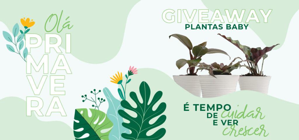 Giveaway - Plantas Baby