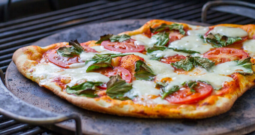 Pizza Napolitana receita Weber para a mellhor mãe do mundo