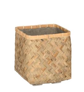 Cubo Kobe em bamboo revestido a cimento